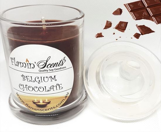 Picture of BELGIUM CHOCOLATE CANDLE