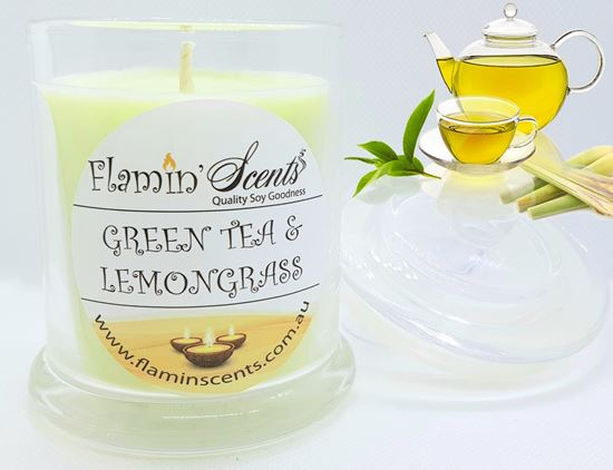 Picture of GREEN TEA AND LEMONGRASS CANDLE