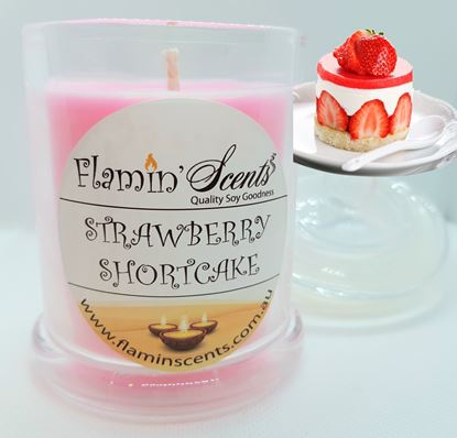 Picture of STRAWBERRY SHORTCAKE CANDLE