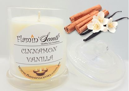 Picture of CINNAMON VANILLA CANDLE