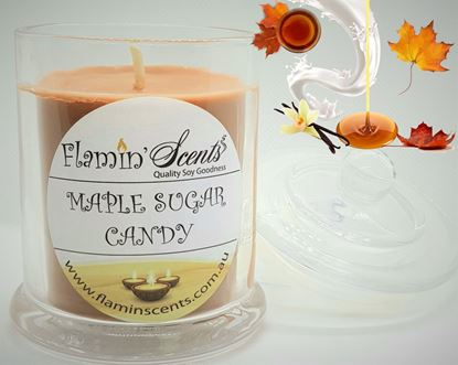 Picture of MAPLE SUGAR CANDY CANDLE