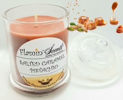 Picture of SALTED CARAMEL PISTACHIO CANDLE