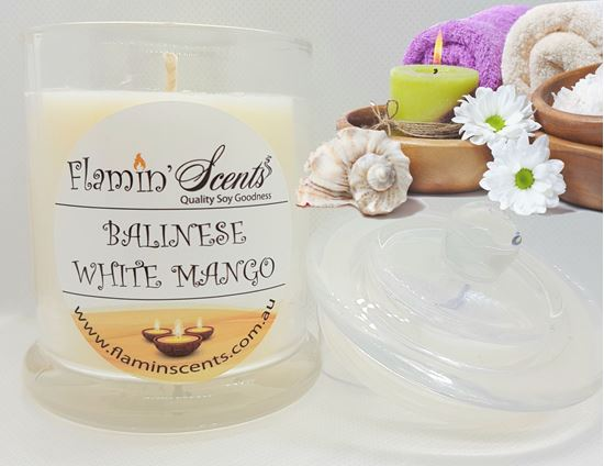 Picture of BALINESE WHITE MANGO CANDLE