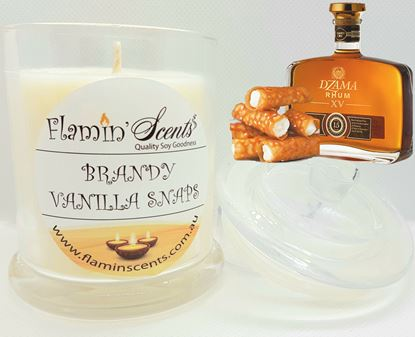 Picture of BRANDY VANILLA SNAPS CANDLE