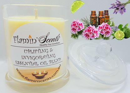 Picture of UPLIFTING & INVIGORATING ESSENTIAL OIL BLEND CANDLE